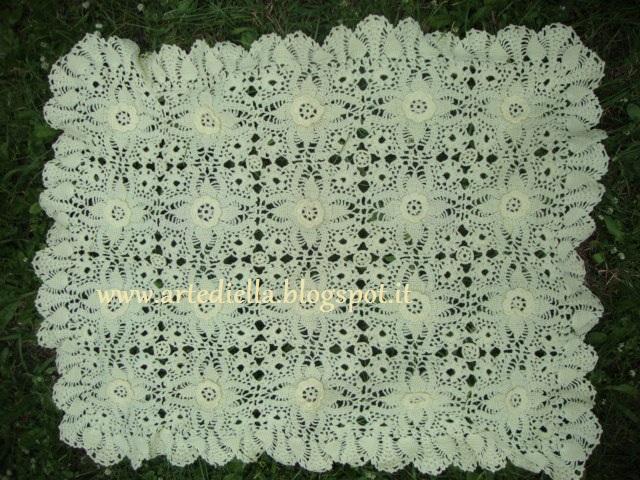 Favorito Le Fragole di Stoffa: Copertina in lana all'uncinetto per carrozzina RX14
