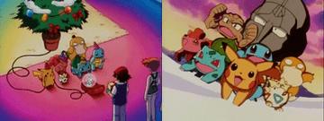 Crónica 20. Las vacaciones de Navidad de Pikachu: La noche de Navidad / Juegos Kanga
