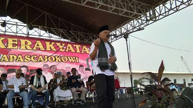 Doa Minta Presiden Baru Amien Rais Ketika Di Makkah: Ya Allah Hancurkanlah Jokowi, Sesungguhnya Dia MusuhMU & Musuh Kaum Beriman