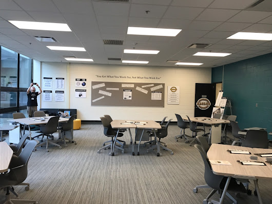 DYETT HIGH SCHOOL NEW ACTIVE INSTRUCTION CLASSROOM - READY TO ROLL