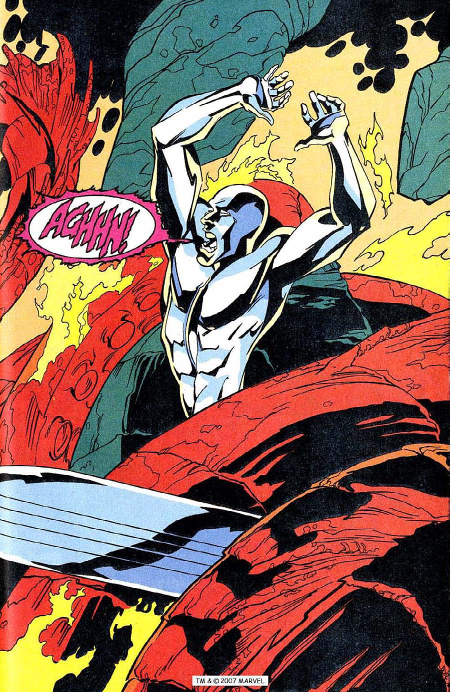 Read online Silver Surfer (1987) comic -  Issue #100 - 41