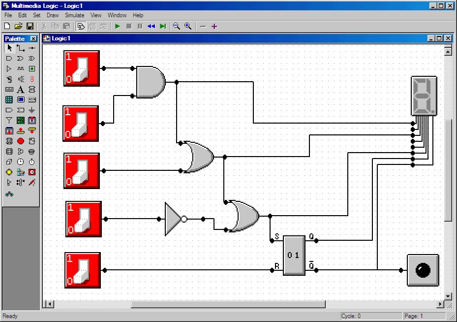 Online Simple Circuit Designer