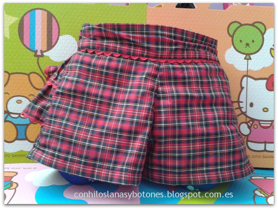 Conhiloslanasybotones - pantalón con volantes en el culete
