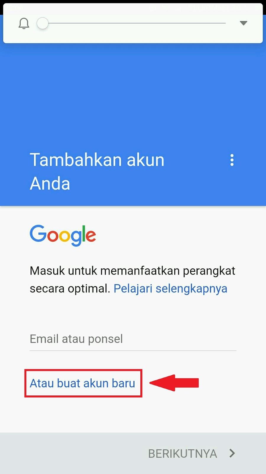 Cara Buat Email Gmail Indonesia Lewat Hp Android Dengan