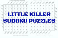 Little Killer Sudoku Variation Puzzles