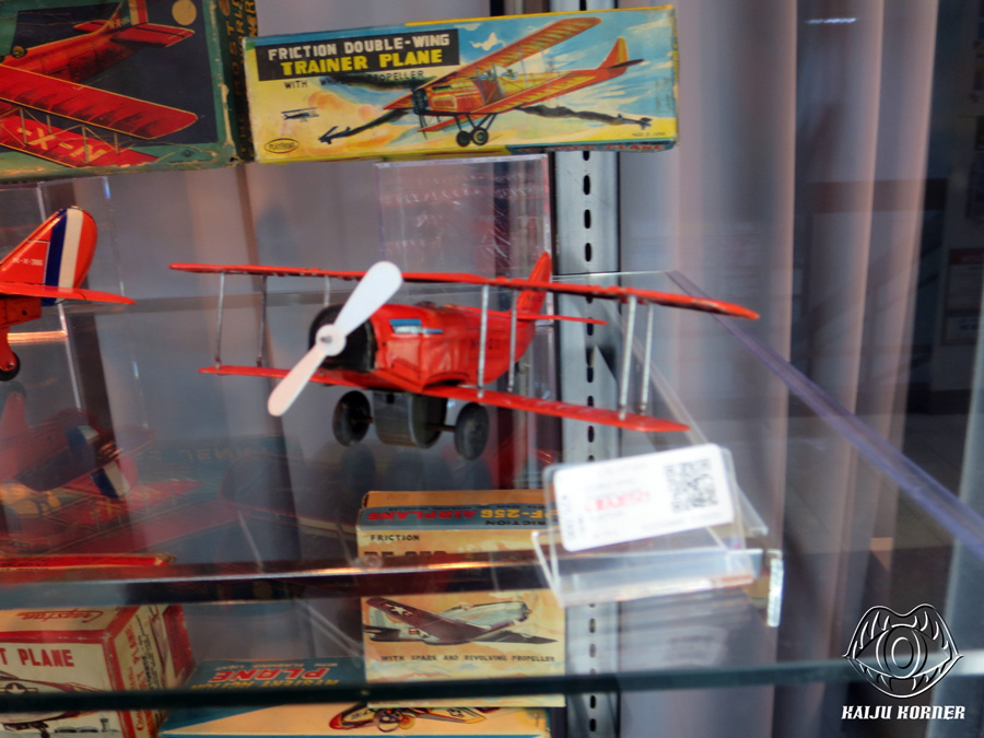 Kaiju Korner Vintage Tin Toy Planes From Japan From The