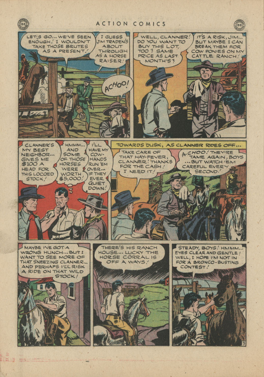 Read online Action Comics (1938) comic -  Issue #83 - 24