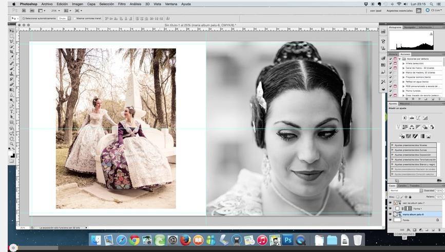 maquetar con photoshop