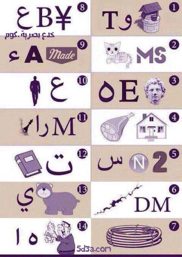 لغز : إذا عرفت اسم الـ 14 مدينة عربية فأنت من الأذكياء