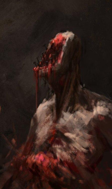 Ivan Stan artstation arte ilustrações fantasia terror sombrio lovecraft inferno