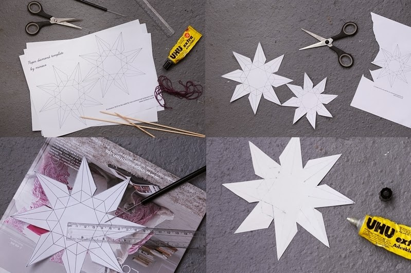 Diy Origami Diamanten Aus Papier Falten Nicest Things