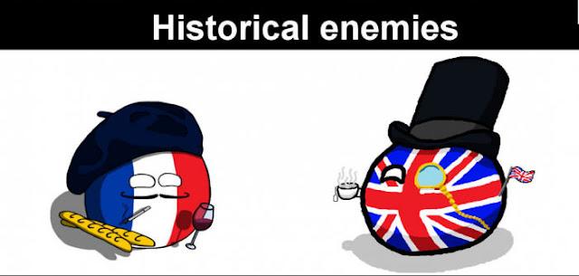شكل لباس السكان اتلقدامى بفرنسا وانجلترا