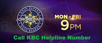 Call KBC Helpline Number
