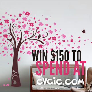 Enter the Evgie Wall Decal Giveaway. Ends 1/16.