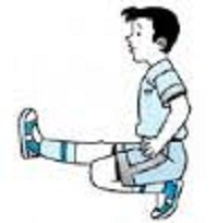 Latihan Keseimbangan dari Sikap Berdiri Kemudian Jongkok