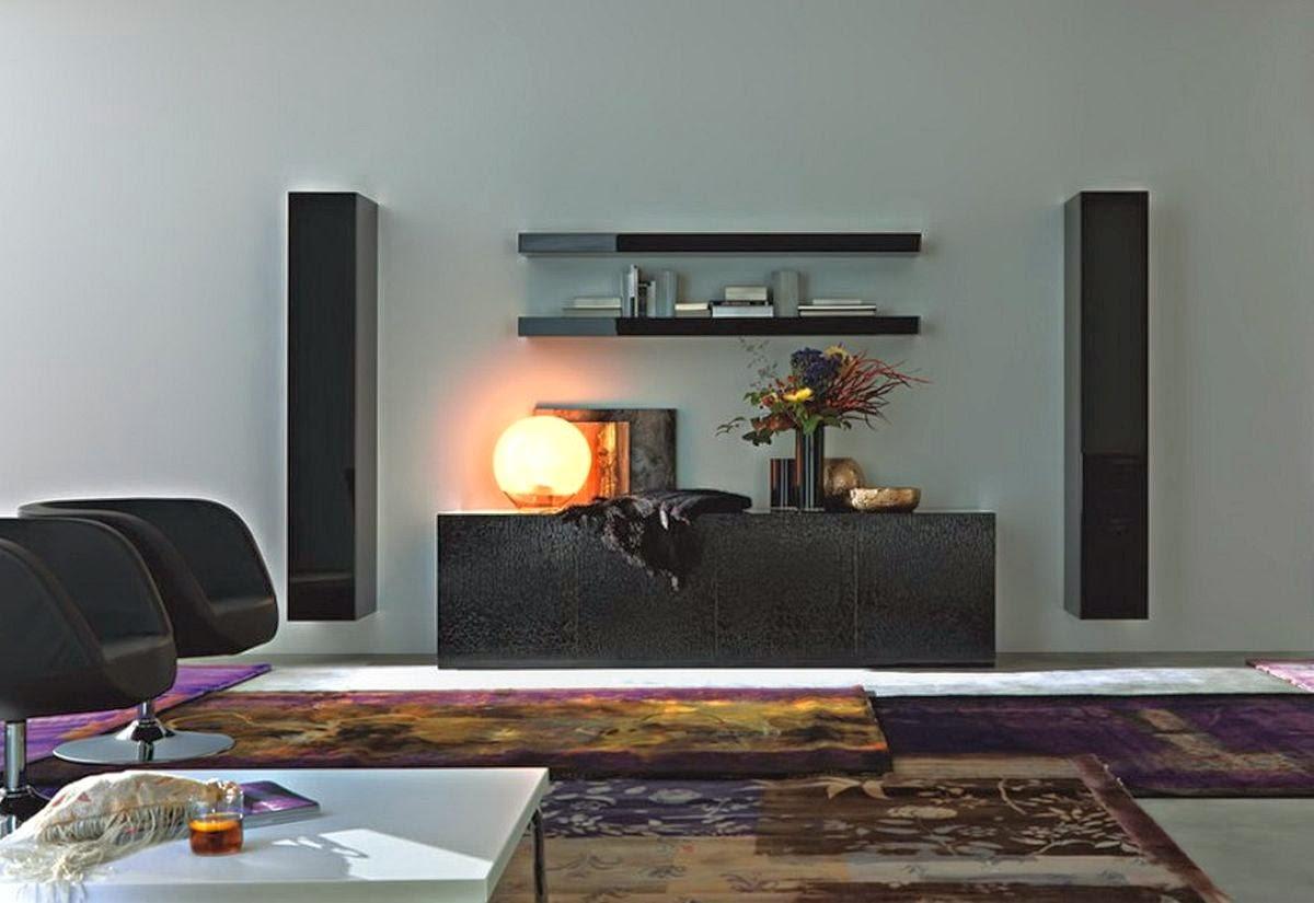 Tv Room Ideas: Living Room Decorating Ideas With Big Screen TV