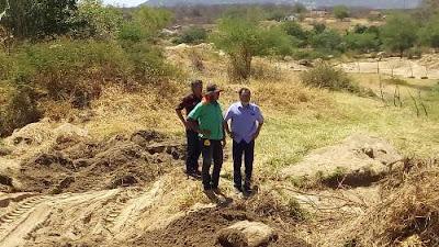 Resultado de imagem para Prefeitura de Carnaíba está construindo barragem no povoado da Itã