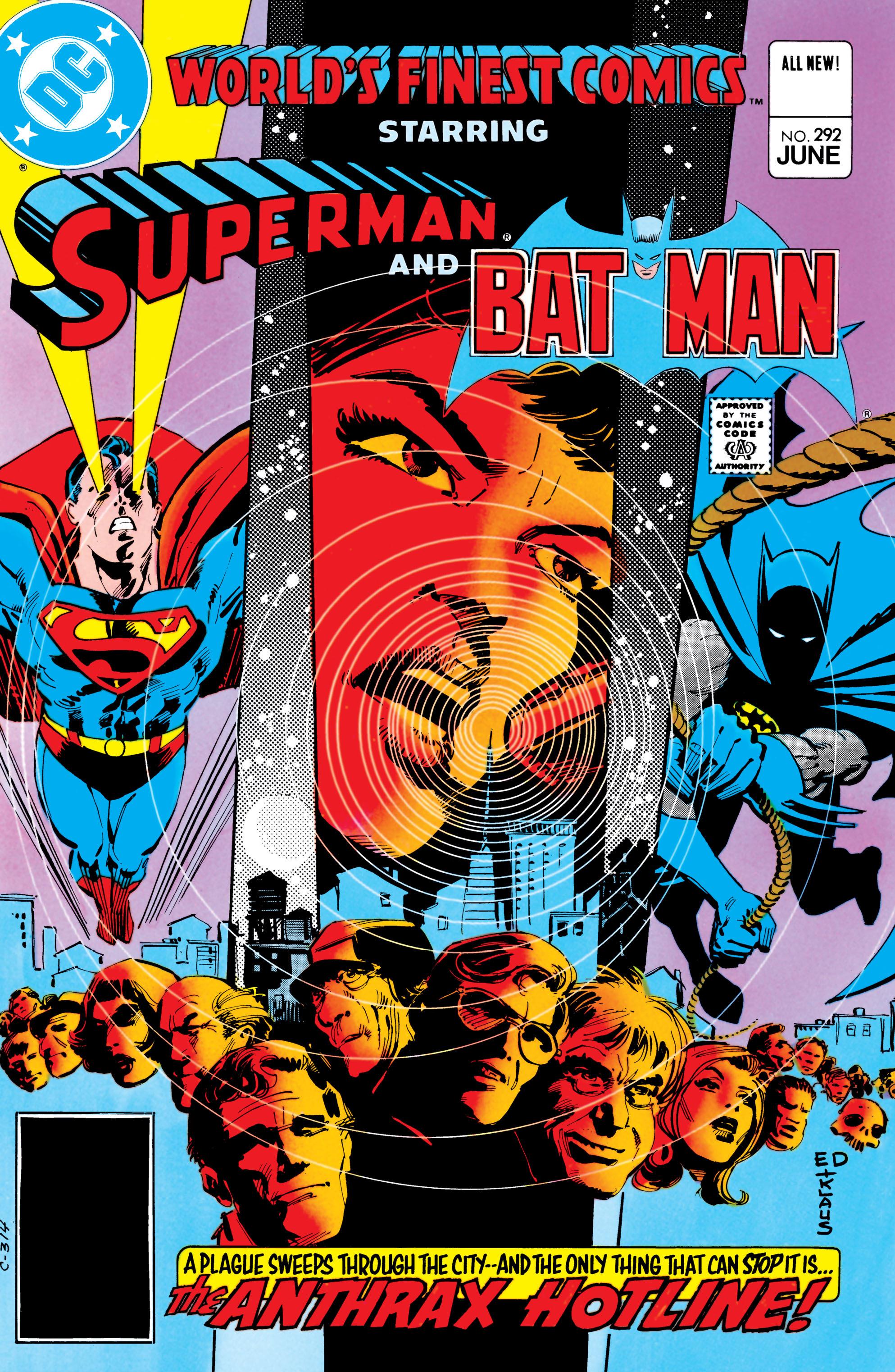 Read online World's Finest Comics comic -  Issue #292 - 1