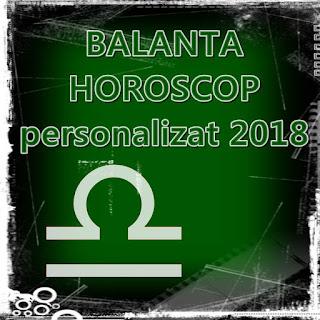 Zodia BALANTA HOROSCOP personalizat 2018 cu data nasterii 1988