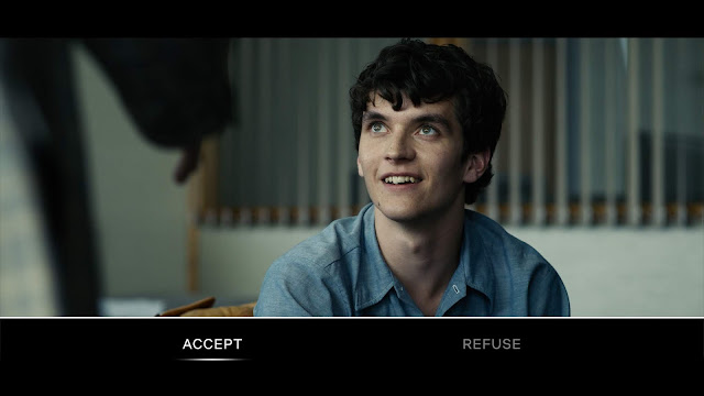 """Bandersnatch"" Black Mirror - An image of how the viewer makes a choice."