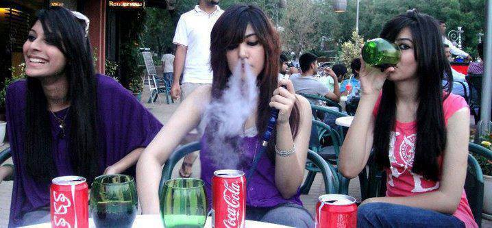 Girls Smoking Photos India