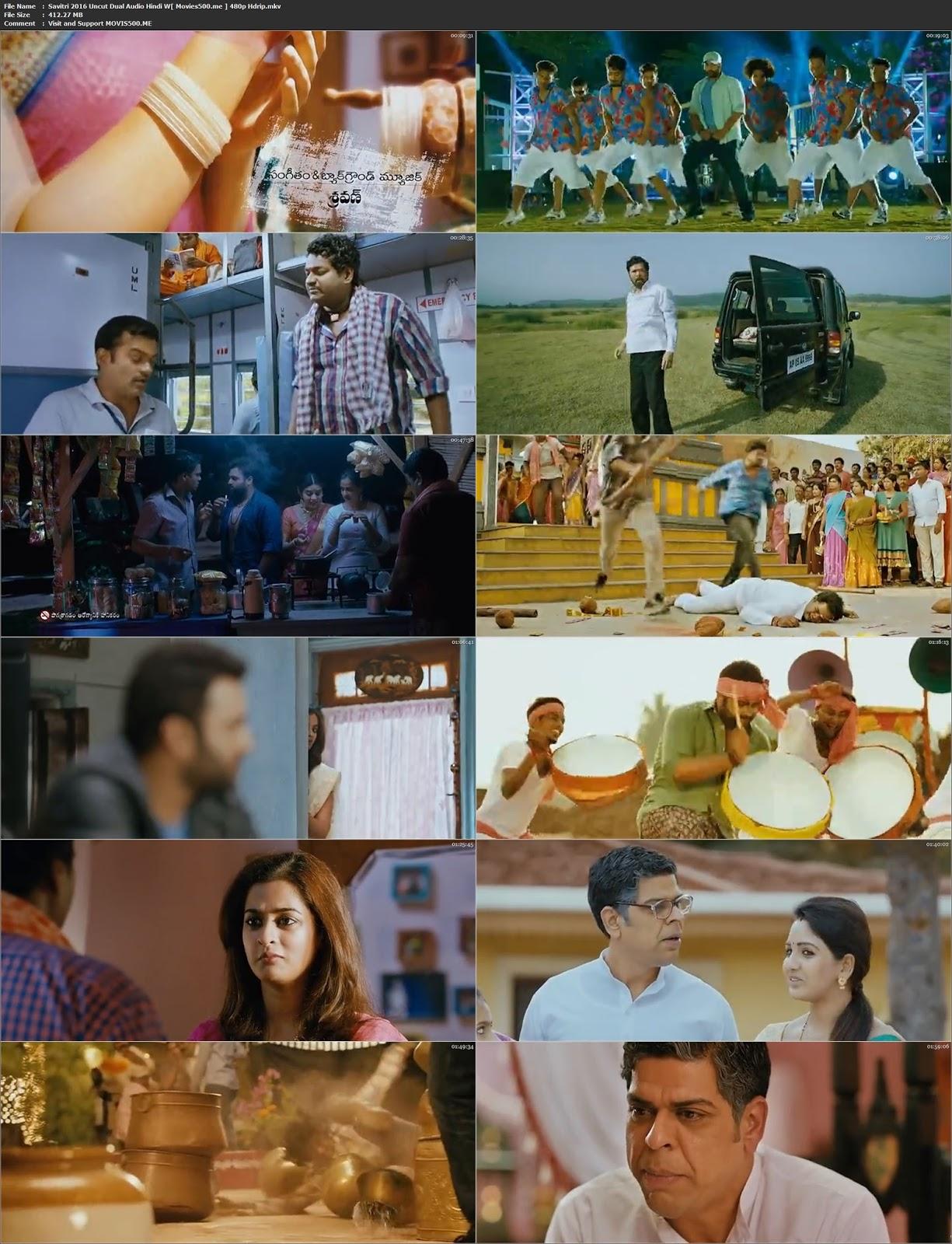 Savitri 2016 Hindi Dubbed 400MB HDRip 480p at movies500.site