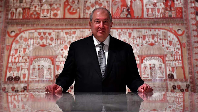 Presidente de Armenia asiste al Foro Mundial de Inversiones 2018