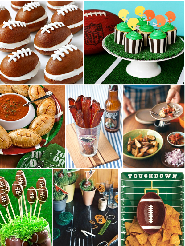 Last Minute Superbowl Party Ideas - via BirdsParty.com