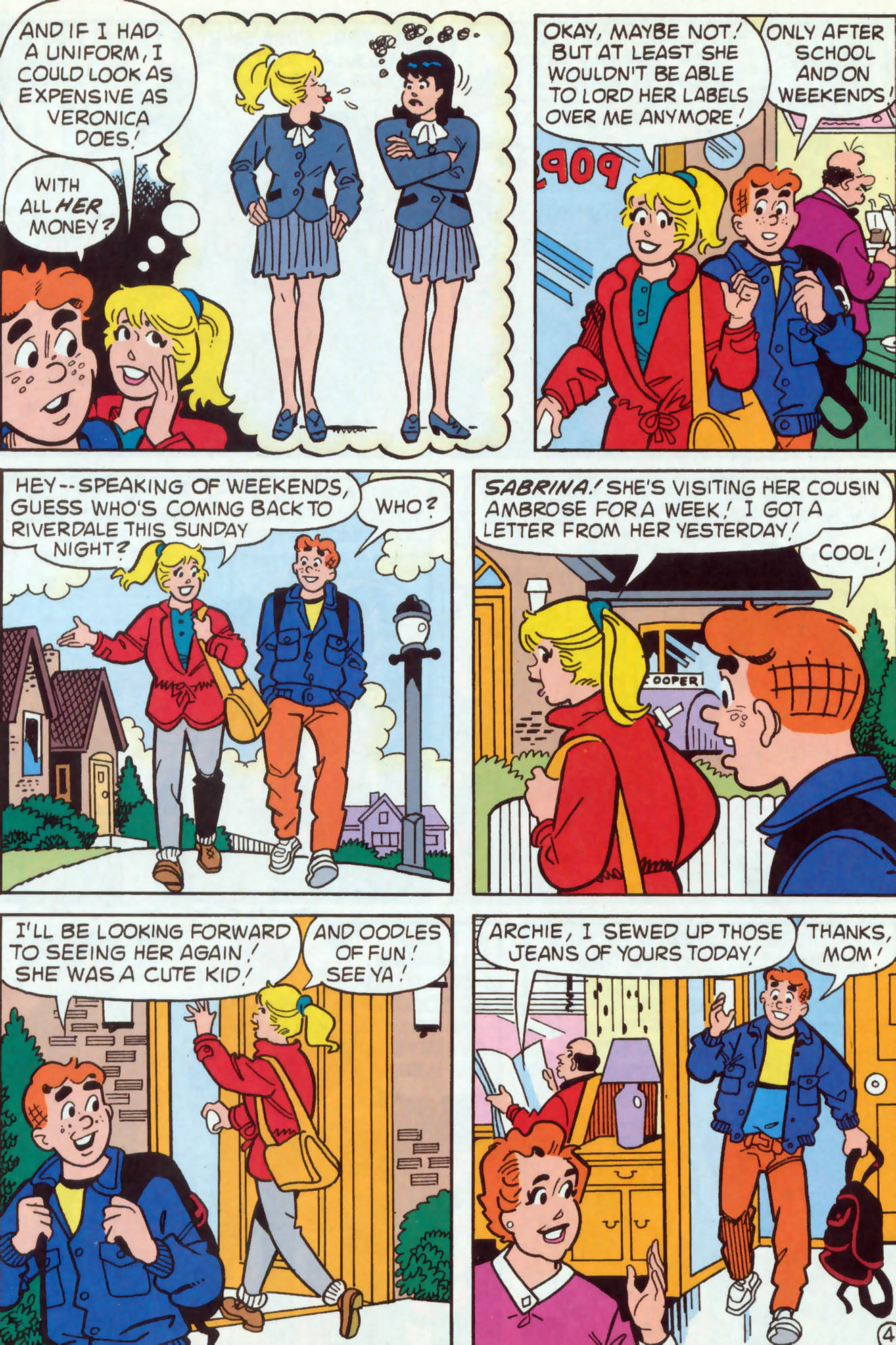 Read online Archie (1960) comic -  Issue #467 - 5