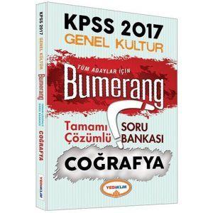Yediiklim KPSS Coğrafya Bumerang Tamamı Çözümlü Soru Bankası 2017