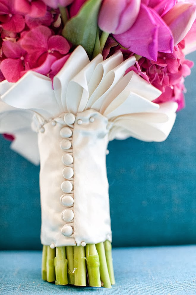 Wedding Bouquet Wraps Holders And Handles Ideas The