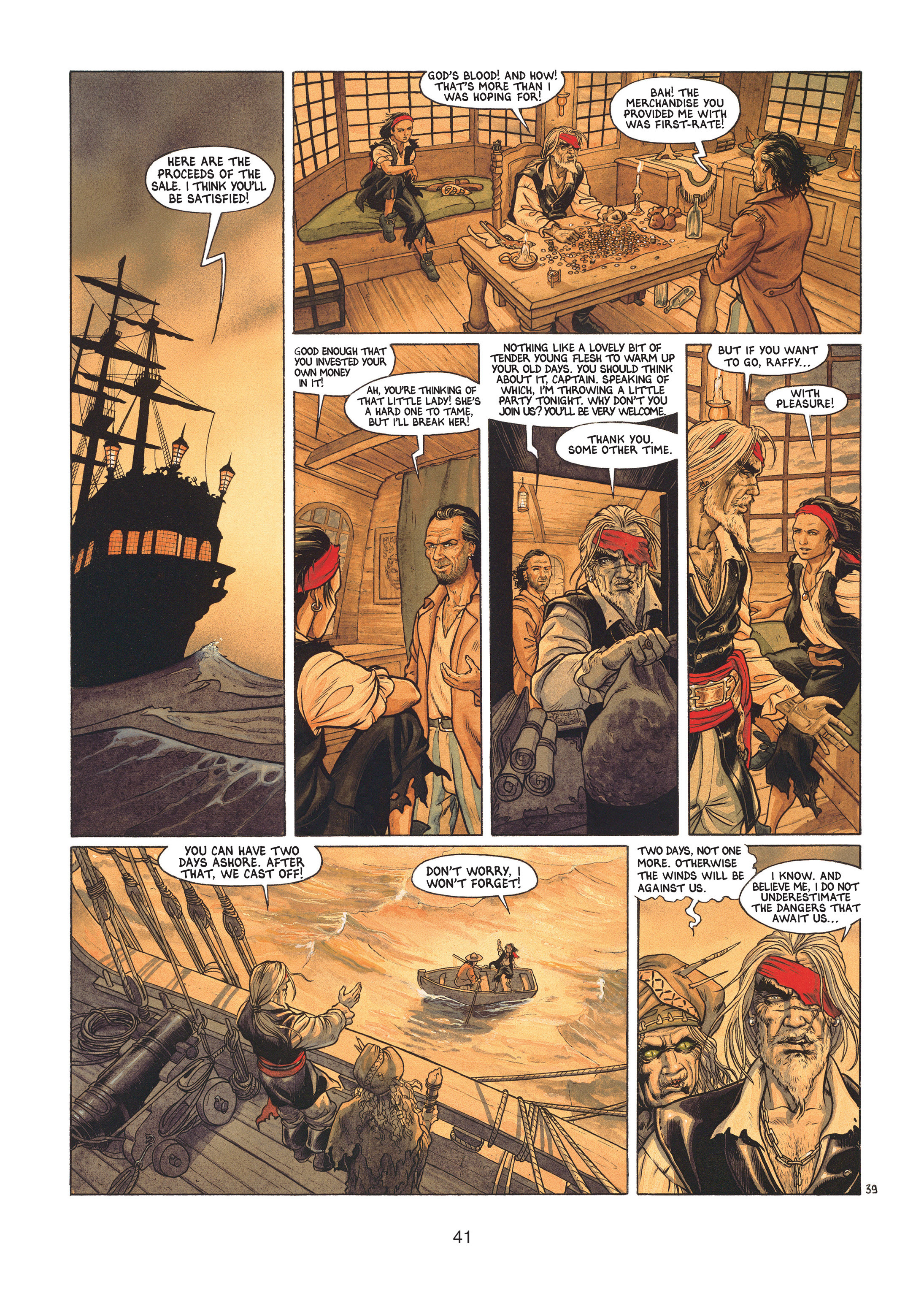 Read online Barracuda comic -  Issue #1 - 41