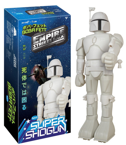 "Star Wars ""Prototype Armor"" Boba Fett Super Shogun Figure by Super7 x Funko"