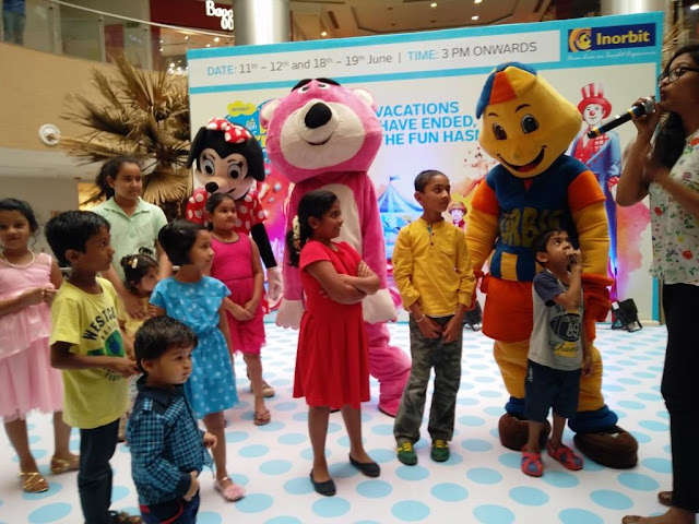 'FUN FIESTA' KIDS CARNIVAL AT MY INORBIT MALL WHITEFIELD