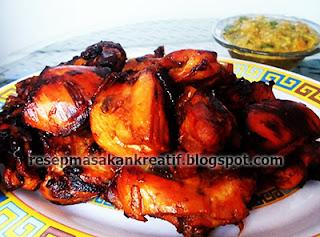 Resep Ayam Bacem dan Sambal