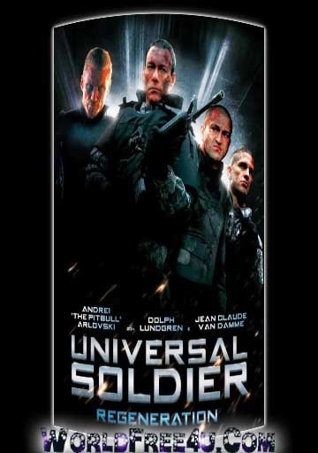 Poster Of Universal Soldier Regeneration (2009) In Hindi English Dual Audio 300MB Compressed Small Size Pc Movie Free Download Only At worldfree4u.com
