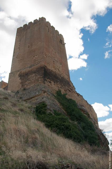 Castillo de Uncastillo Zaragoza Aragon