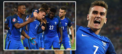 Germany 0-2 France: 5 star Antoine Griezmann fires France into Euro 2016 final against Portugal