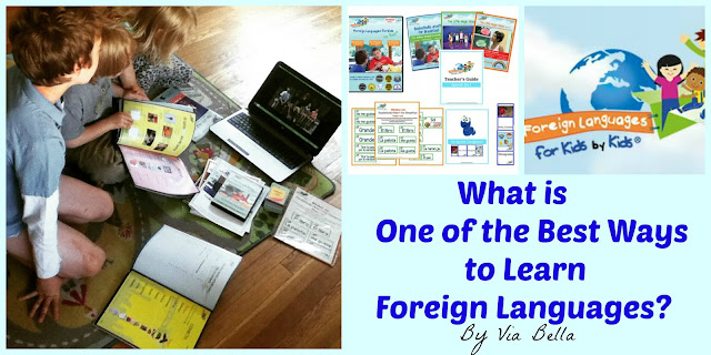What is One of the Best Ways to Learn Foreign Languages?, TOS Crew, Product Review, Homeschool, Homeschool Review, spanish for kids, learn Spanish, Spanish for homeschoolers, homeschool Spanish, Foreign Language, Learning, DVD, Product
