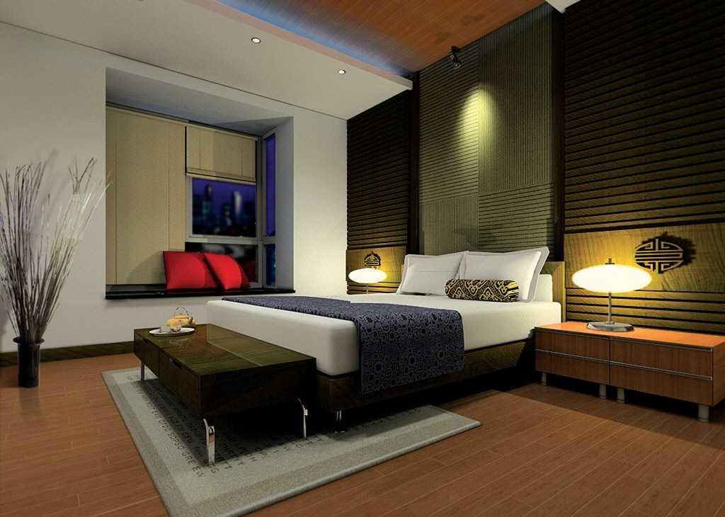 Gambar Ruang Kamar Tidur Sederhana
