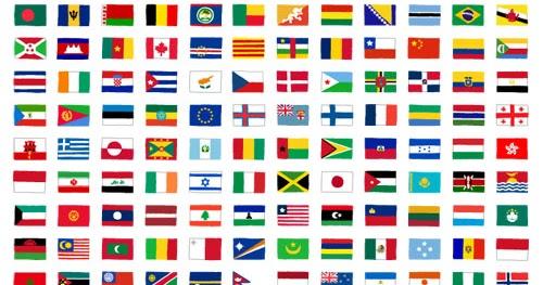 世界の国旗のイラスト248枚まとめ かわいいフリー素材集 いらすとや