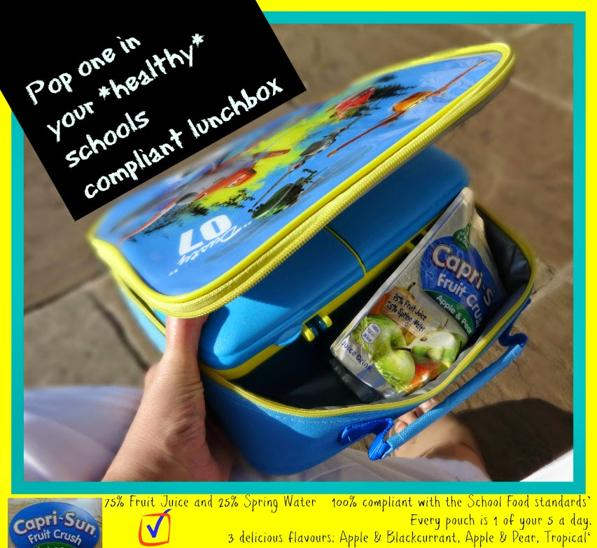Capri-Sun Fruit Crush 3 reasons why it is healthy in a lunchbox