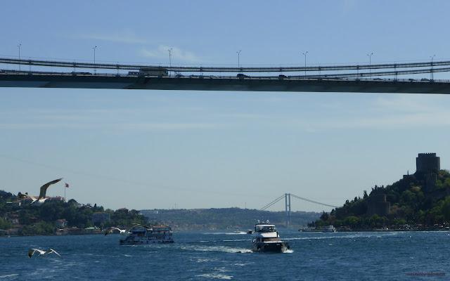 Plavba po Bospore, Istanbul, Turecko