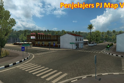 Free Download Mod PJ Map V2.4 for Euro Truck Simulator 2 (ETS2) on Computer or Laptop