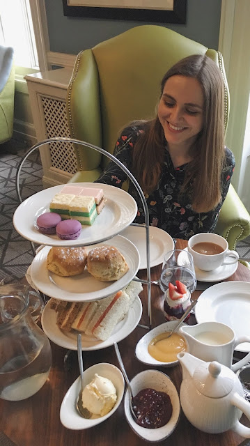 Afternoon Tea at Queens Hotel, Cheltenham