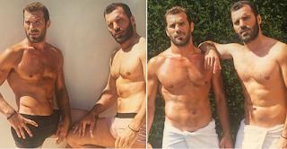 Κωνσταντίνος Τσεπάνης: Η seχy φωτογράφηση με τον αδερφό του και η αποκάλυψη για την καταγωγή τους