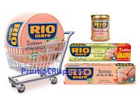 Logo Con Rio Mare il tagliere omaggio sicuro e  vinci 70 forniture di tonno