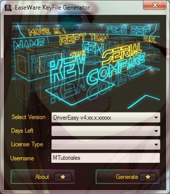 easyware multi-keyfile generator