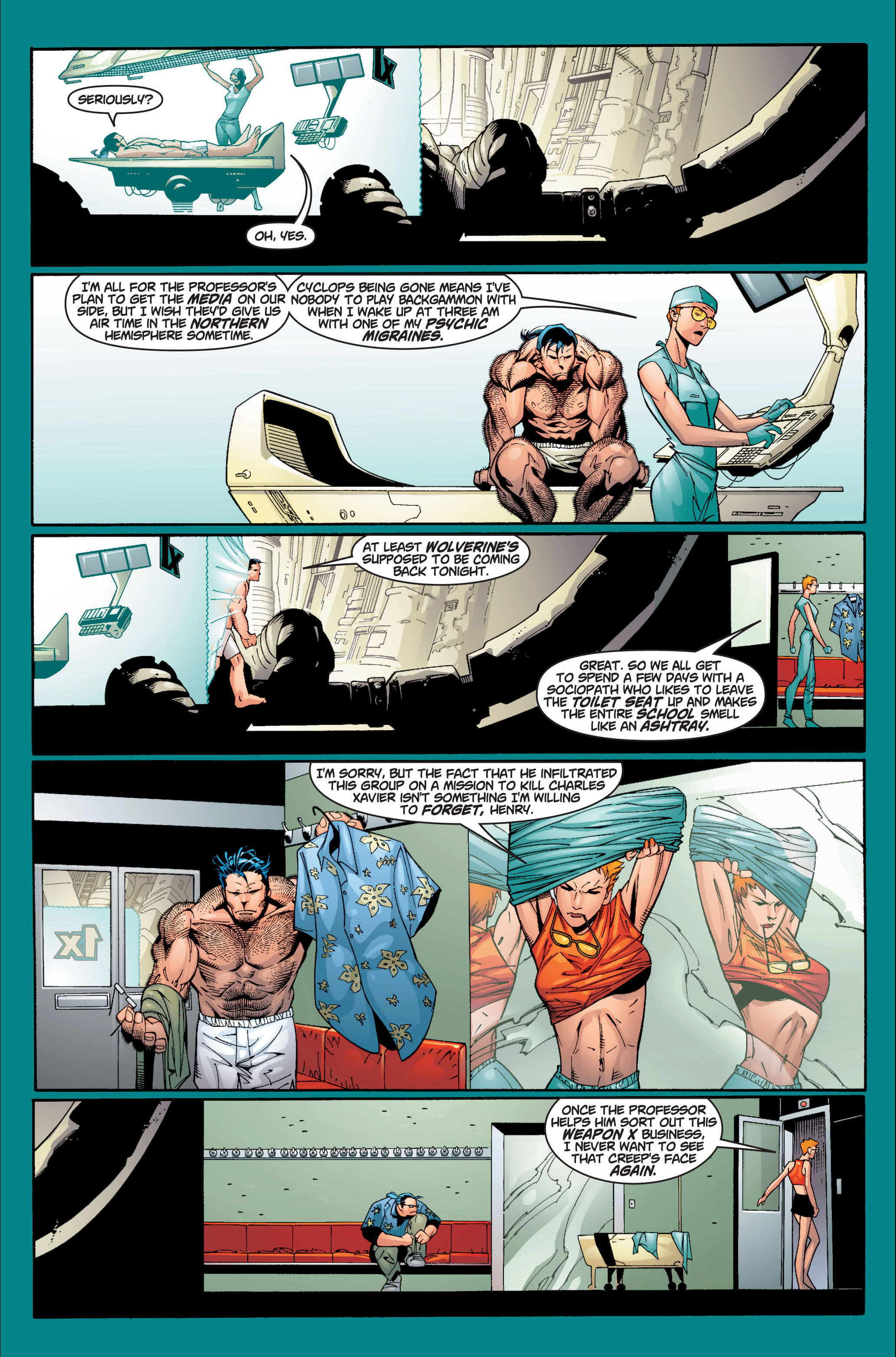 Read online Ultimate X-Men comic -  Issue #7 - 11