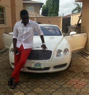 aremu afolayan buys bentley